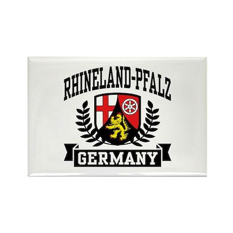Rhineland Pfalz Germany Rectangle Magnet