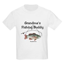 FISHING WITH GRANDMA T-Shirt