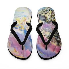 Mountains Flip Flops