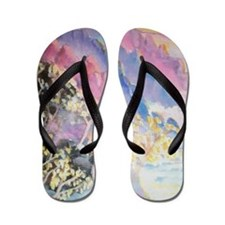 Mountains Flip Flops