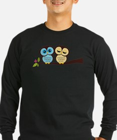 Lovely Owl Couple T