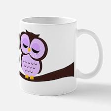 Lovely Owl Couple Mug