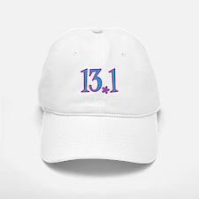 13.1 pink blue flower Baseball Baseball Cap