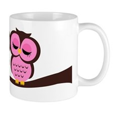Lovely Owl Couple Mug