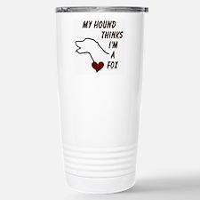 Foxhound Stainless Steel Travel Mug