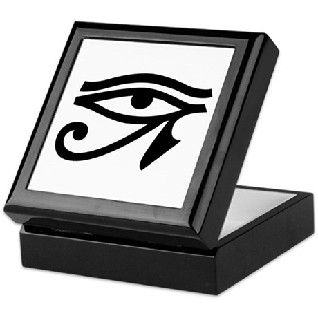 Egyptian Eye Keepsake Box
