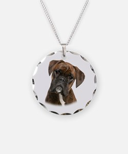 Brindle Boxer Necklace