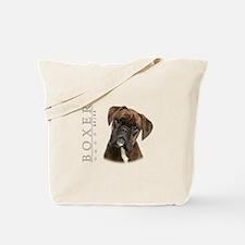 Brindle Boxer Tote Bag