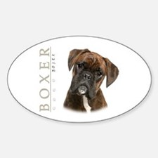 Brindle Boxer Decal