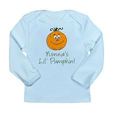 Nonna's Little Pumpkin Long Sleeve Infant T-Shirt