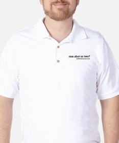 one shot or two? Golf Shirt