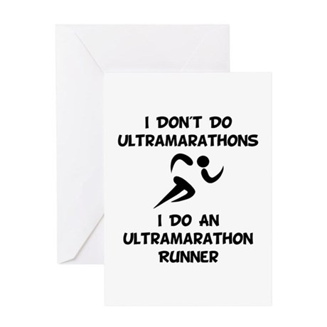 Do An Ultramarathon Runner Greeting Card