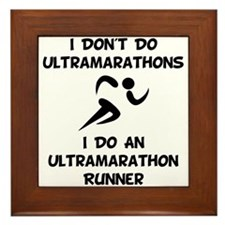 Do An Ultramarathon Runner Framed Tile