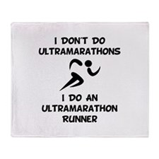 Do An Ultramarathon Runner Throw Blanket