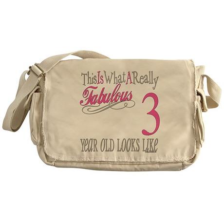 3rd Birthday Gifts Messenger Bag
