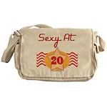 Sexy At 20 Messenger Bag