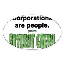 Cute Soylent green people Decal