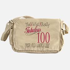 100th Birthday Gift Messenger Bag
