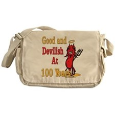 Devilish At 100 Messenger Bag