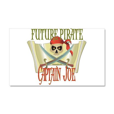 Captain Joe Car Magnet 20 x 12