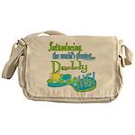 Best Daddy Ever Messenger Bag