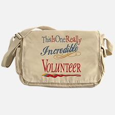 Incredible Volunteer Messenger Bag