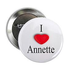 "Annette 2.25"" Button (10 pack)"