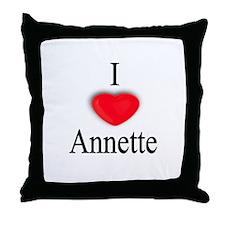 Annette Throw Pillow