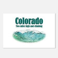 Colorado 2 Miles High Postcards (Package of 8)