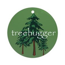 Treehugger Ornament (Round)