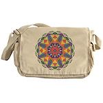 A Colorful Star Messenger Bag