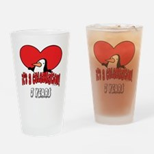 3rd Celebration Drinking Glass