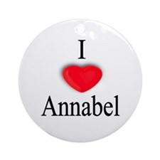 Annabel Ornament (Round)