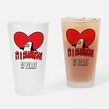13th Celebration Drinking Glass