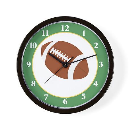 Football Lover Sports Room Wall Clock