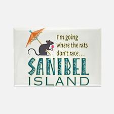 Sanibel Rat Race - Rectangle Magnet