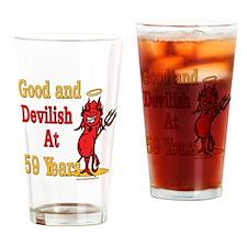 Devilish at 59 Drinking Glass