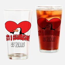 33rd Celebration Drinking Glass