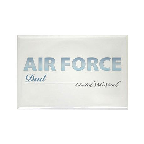Air Force Dad Rectangle Magnet (10 pack)