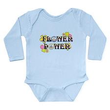 Flower Power Long Sleeve Infant Bodysuit