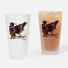 Raven Trio Drinking Glass