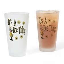 Bee Thing! Drinking Glass