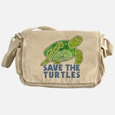 Save the Turtles Messenger Bag