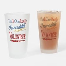Incredible Volunteer Drinking Glass