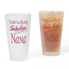 Fabulous Nana Drinking Glass