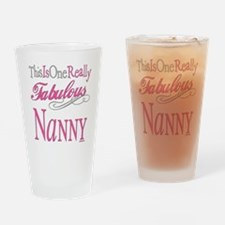 Fabulous Nanny Drinking Glass