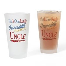Incredible Uncle Drinking Glass