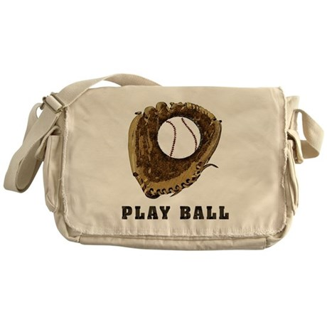 Play Ball Messenger Bag