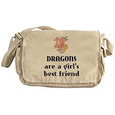 Dragon Girl Messenger Bag