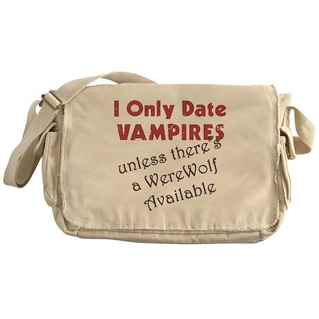I Date Vampires Messenger Bag